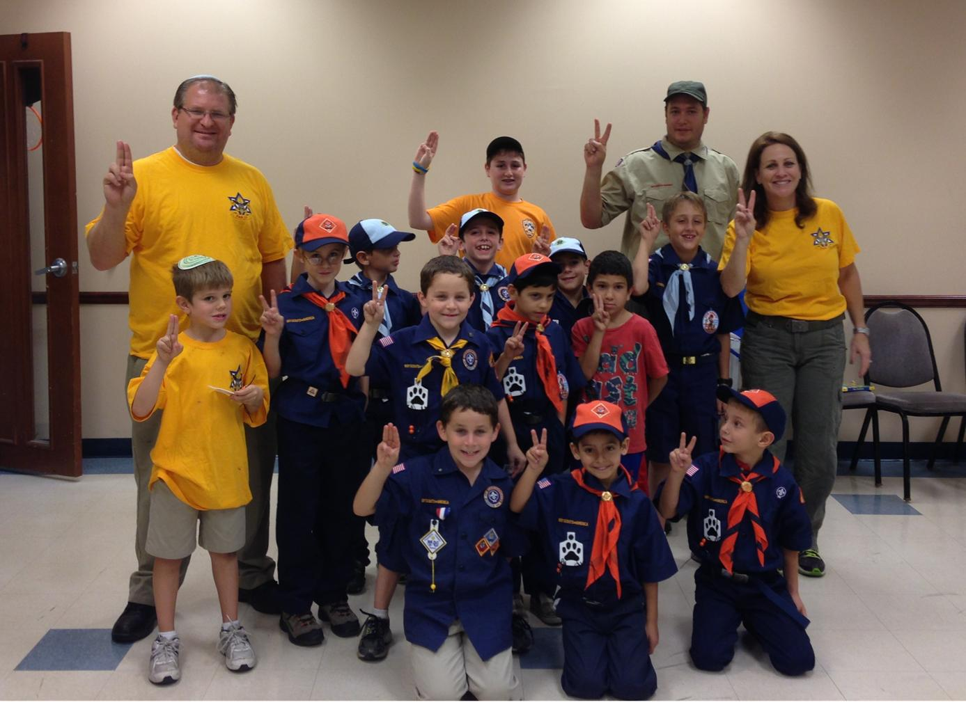 Pack 18 with Group Shot